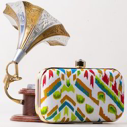 Elegant Printed Clutch