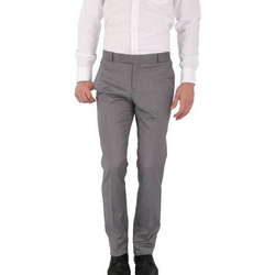 Mens Regular Fit Formal Trousers