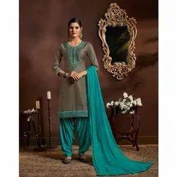 Party Wear Ladies Designer Patiala Salwar Suit