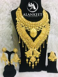 African Gold Plated Jewelry