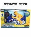 Plastic Remote Control Operated Bike