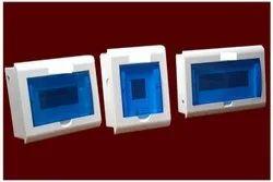 White and Blue Mild Steel (MS) MCB Whilteline Box