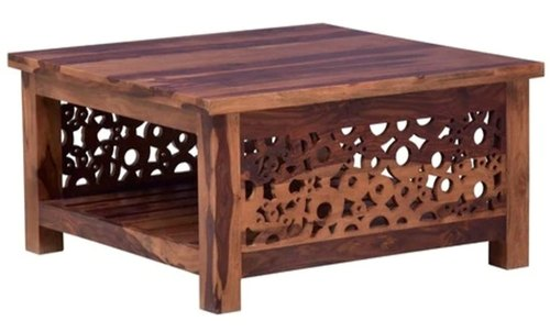 Square Home Decor Wooden Center Table