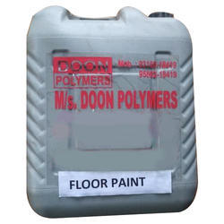 Water Based High Gloss Floor Paint, Packaging Type: Can