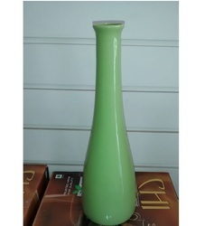 Ceramic Green Flower Vase