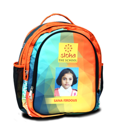 Polyster Printed Costumized School Bag Making