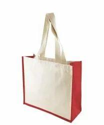 Onego Plain Jute Canvas Bag