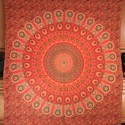 Ombre Bedspread Indian Large Mandala Tapestry Wall Hanging