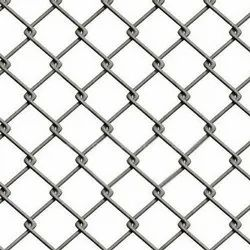 Galvanized Silver Chain Link Fencing, Size: 1.6 To 4mm