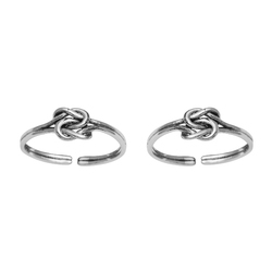 SHTR0047 925 Sterling Silver Toe Ring