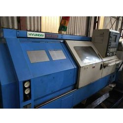Used & Old Machine - Hyundai Hit 30s Cnc Turning Machine Available  Warehouse