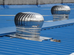 Round SS Turbo Ventilator