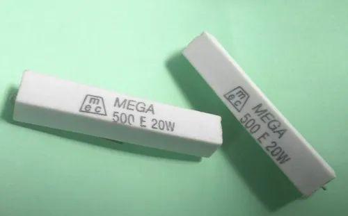 500e 20w Fusible Ceramic Wire Wound Resistor Mega