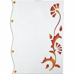 Wall Mounted Nutan Designer Glass Mirror
