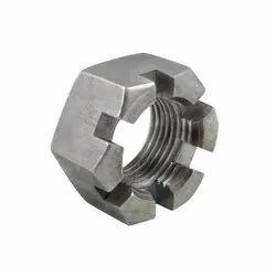 Hexagon MS SS Castle Nut