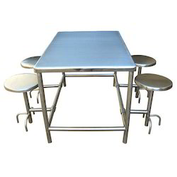Rectangular Canteen Table