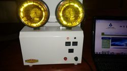 LED And High Intensity Discharge Industrial Emergency Light Double Beam