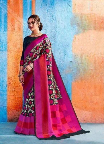 8f3a687d73 Sethnic Rajtex Kalawati Silk Saree, Length: 5.5 M, Rs 1675 /piece ...