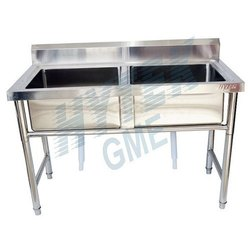 SS304 Double Sink