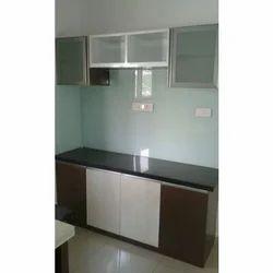 Residential Straight Modular Kitchen, Warranty: 5-10 Year
