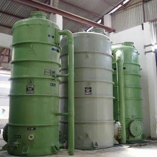 Round PP FRP Pressure Tank, Storage Capacity: 2000L
