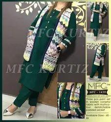 MFC 1439 Woolen Pant Set With Jacket