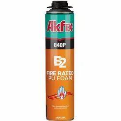 840P B2 Fire Rated PU Gun Foam