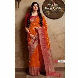 Manjubaa Mangalya Silk Saree