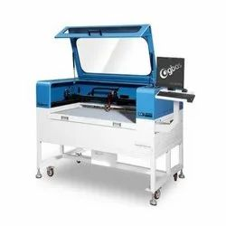 CCD Camera Positioning CO2 Laser Cutting Machine