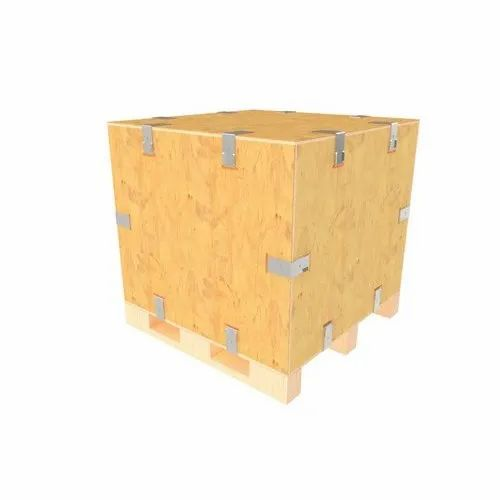 Square Heavy Duty Wooden Box, for Packaging