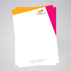 Pad Custom Printed Letterheads, Model Number: Custom