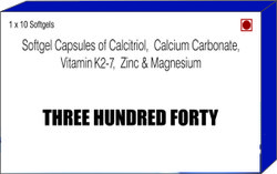 Calcitriol Calcium Carbonate Vitamin K2-7 Zinc and Magnesium