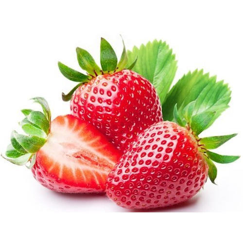 fresh red strawberry at rs 100 kilogram strawberry id 16422627048