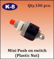 K-8 Mini Push On Switch