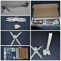 3x3 Universal Projector Ceiling Mount Kit 100 cm to 180 cm c