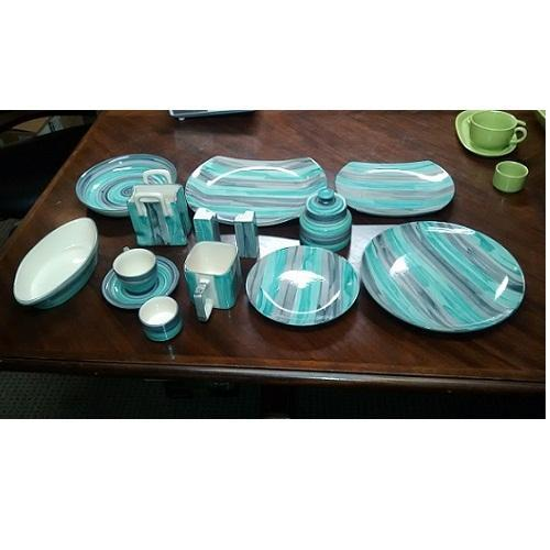 Ceramic Hand Painted Dinner Set