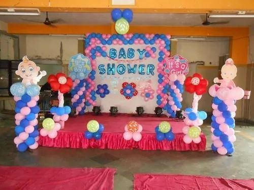 Baby Shower Balloon Decoration Age Group Newly Born Id 21319508812