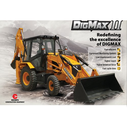 Digmax Ii Backhoe Loader