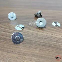 15mm Mild Steel Magnet Buttons Nickel