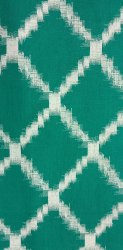 Green Cotton Khari Printed Fabric, GSM: 50-100 GSM