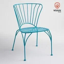 Woavin Industrial, Commercial, Cafe, Iron Chair Wrought, Iron, Dinning Wrought Chair