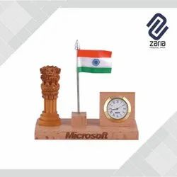 Promotional Wooden Pen Stand