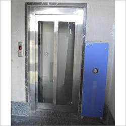 Glass Door Elevator