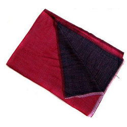 Red Double Face Cashmere Shawls