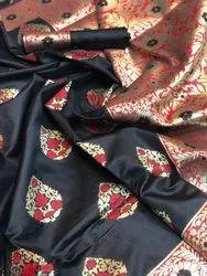 Pure Katan Silk Saree