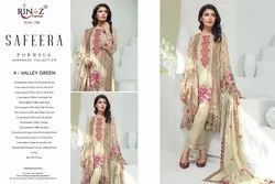 Rinaz Fashion Safeera Georgette With Embroidery Work 1701-1705 Series Suit