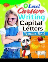 0 Level Cursive Writing Capital Letters Practice Book