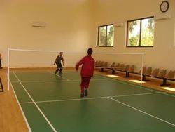 Badminton Indoor Sports Flooring Service