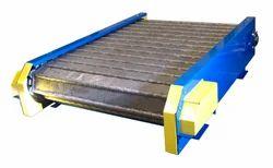 Hinged Metal Belt Conveyor