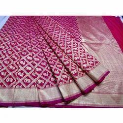 Manini's 6.3 m (with blouse piece) Banarasi Silk Saree